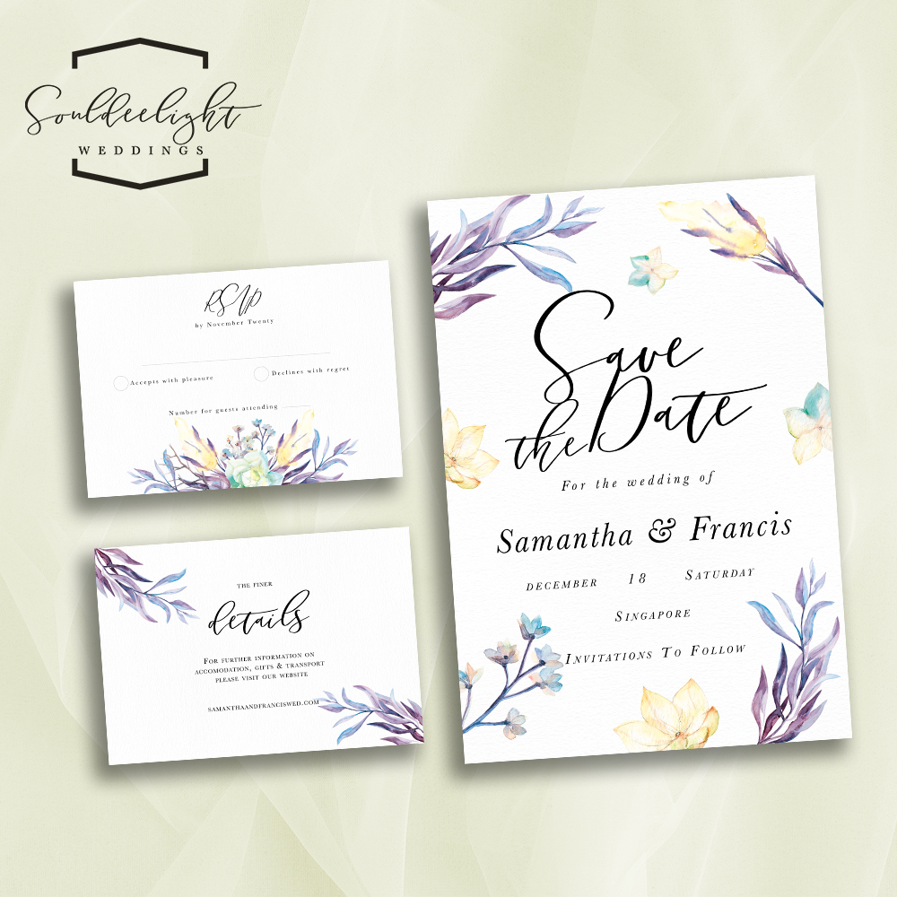 Invitation Wedding Card: Souldeelight Design Studio